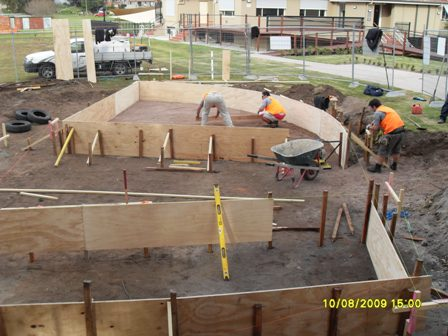 8. Sustainable Building Project - Forming Up and the Slabs - Photo 1.JPG