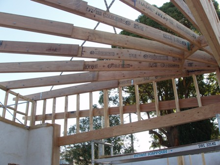 30. Sustainable Building Project - Roof Framing - Photo 2.JPG