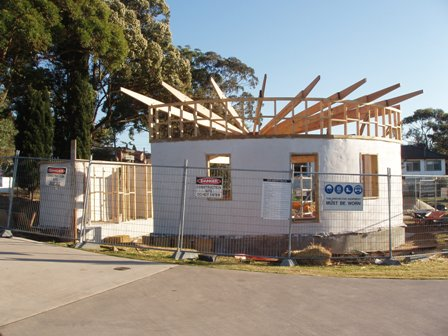 31. Sustainable Building Project - Roof Framing - Photo 3.JPG