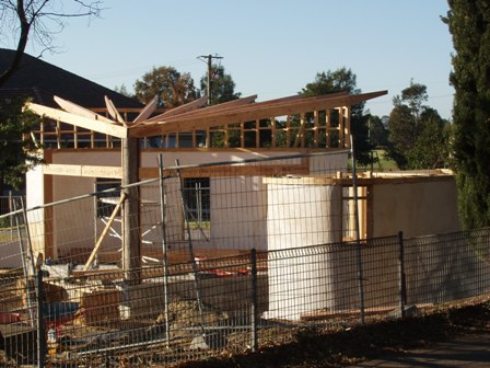 32. Sustainable Building Project - Roof Framing - Photo 4.JPG