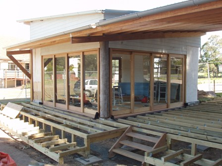 39. Sustainable Building Project - Decking, Doors and Windows - Photo 2.JPG