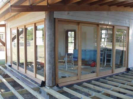 40. Sustainable Building Project - Decking, Doors and Windows - Photo 3.JPG