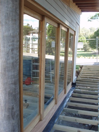 41. Sustainable Building Project - Decking, Doors and Windows - Photo 4.JPG