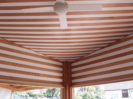 43. Sustainable Building Project - Internal Ceiling Lining Feature - Photo 1.JPG