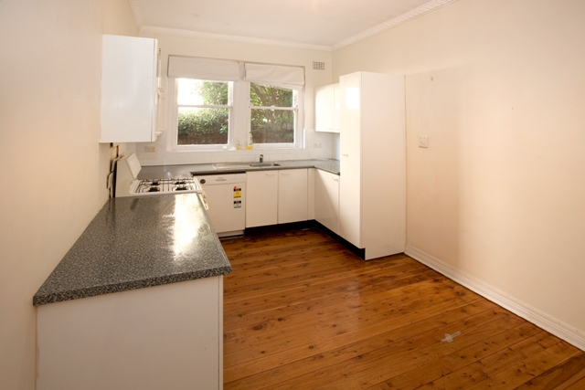 West St North Sydney - Unit Renovation including Kitchen Renovation and Bathroom Renovation - Kitchen Before 2.jpg