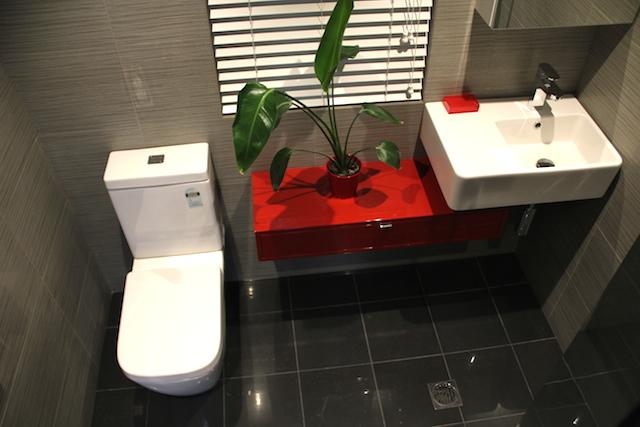 red bathroom topview2.JPG